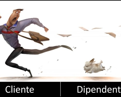 cliente vs dipendente